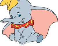 Disney Movie Club VIP Dumbo Pin