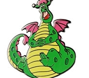 Disney Movie Club VIP Pete's Dragon Pin