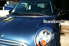 2010 Mini Cooper before tinting