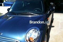 2010 Mini Cooper after tinting