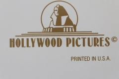 Hollywood Pictures logo (front side)