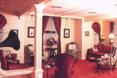 Walt Disney's apartment interior shot