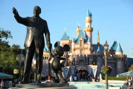 Disneyland Marquee Paper Model