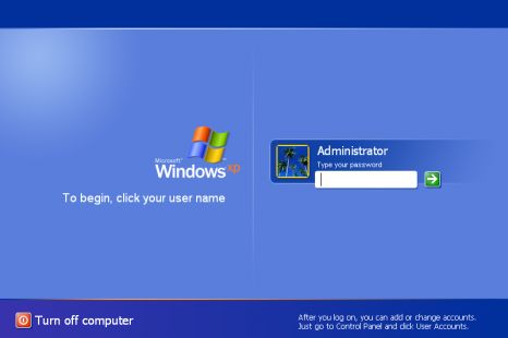 Fix Windows XP Log On/Log Off Loop