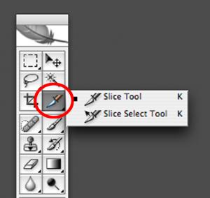 Slice select tool