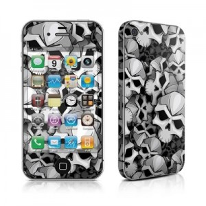 DecalGirl Bones iPhone 4 Skin
