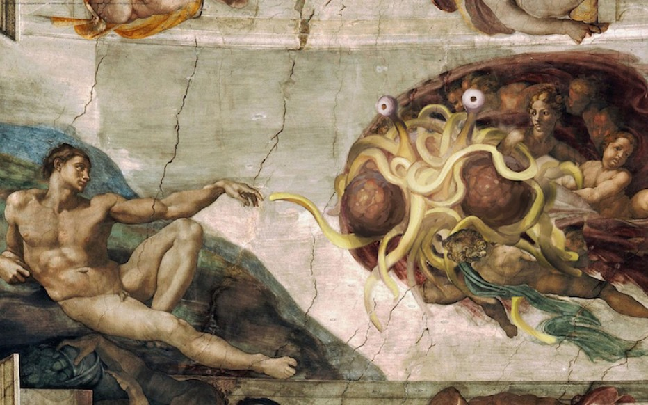 The Church of the Flying Spaghetti Monster