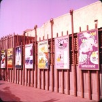 Disneyland attraction posters