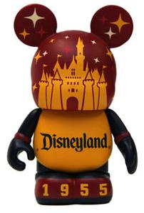 Disneyland Icons set - Vinylmation figure 1