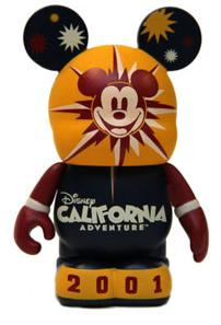 Disneyland Icons set - Vinylmation figure 2