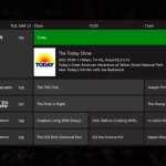 Xbox One TV guide