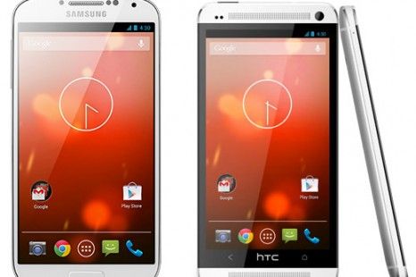 HTC One and Galaxy S4 Google Play Editions On Sale Today