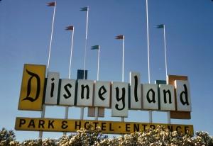 Original Disneyland marquee