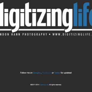 Happy 2015! Digitizing Life is now live!