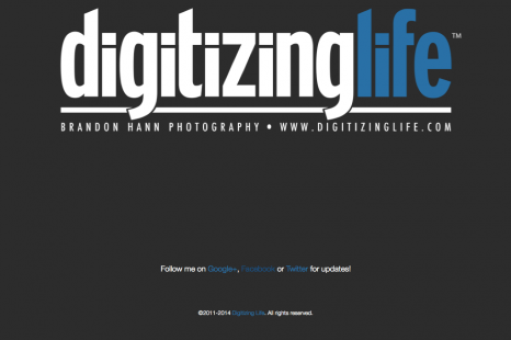 Happy 2015! Digitizing Life is now live!