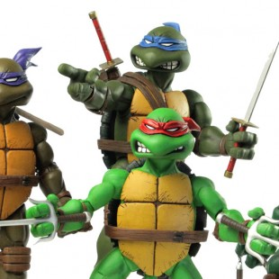Teenage Mutant Ninja Turtles 1/6th scale figures from Mondo