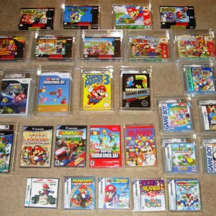 Video Game Authority (VGA) and sealed collectibles
