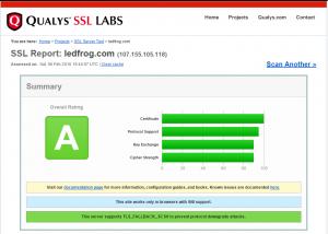 HTTPS server report