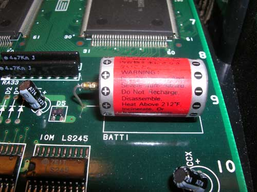 CPS2 battery