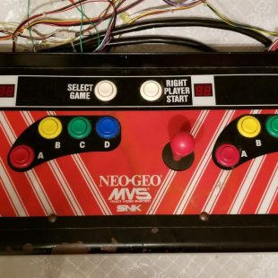 Neo Geo Control Panel for Big Red Cabinet Restoration